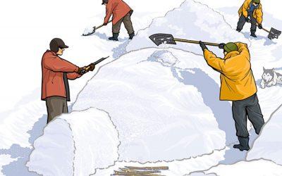 3 rifugi da costruire sulla neve se vuoi sopravvivere