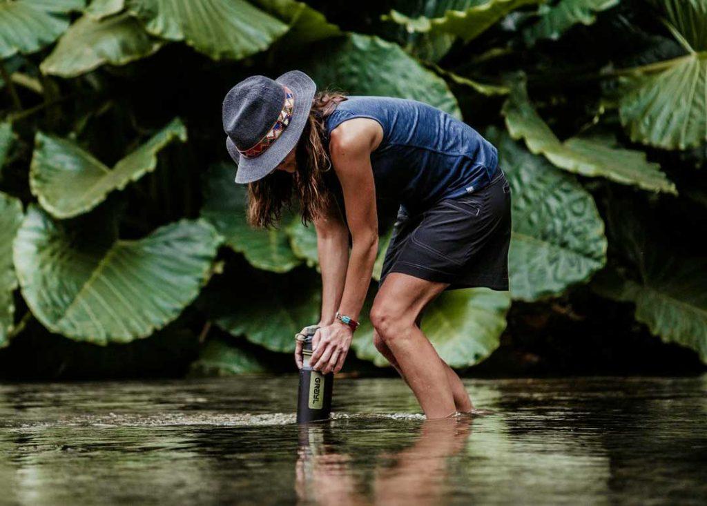 Le migliori 5 borracce con filtro per potabilizzare l'acqua