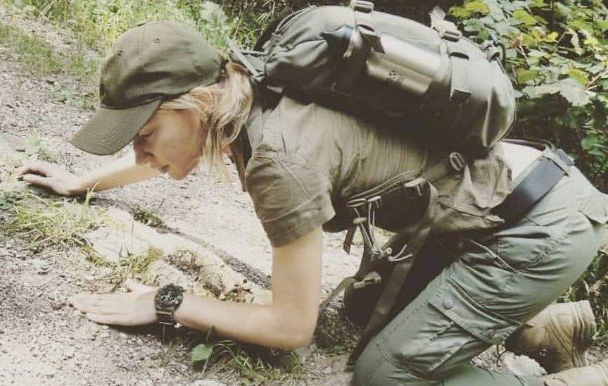 riconoscere le tracce nel bosco