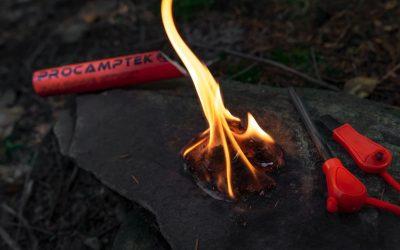 Le migliori 5 esche per accendere un fuoco immediatamente